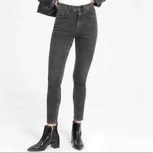 Everlane The High-Rise Ankle Skinny Jeans Size 30